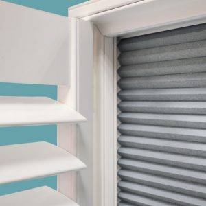 white window shutter close up the shutter company
