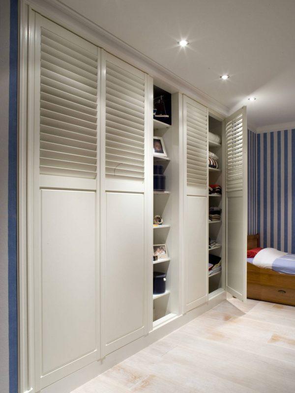 Kastenwand cupboard door shutters